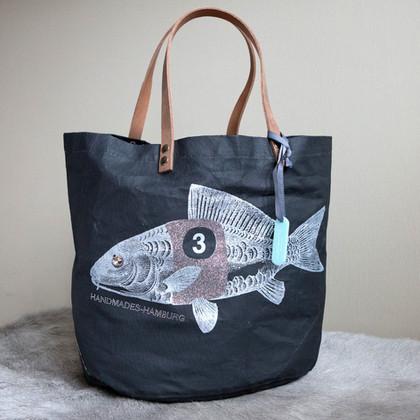 Rennfisch schwarz/ Glitter silber
