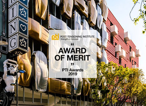 Museum Garage wins the Award of Merit PTI Awards