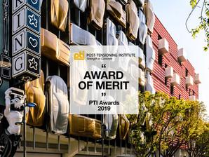 Museum Garage wins the Award of Merit PTI Awards