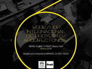 Comenzamos el 6º Workshop Internacional de Proyectos Arquitectónicos en Nueva York