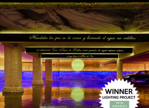 Primer Atardecer en el Pacífico Lighting Project of the Year en los WIN Awards de Londres