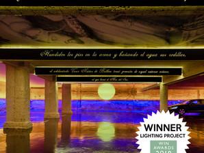 Primer Atardecer en el Pacífico Lighting Project of the Year en los WIN Awards de Londres