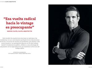 Proyecto Contract: Entrevista a Manuel Clavel