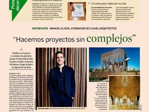 Entrevista a Manuel Clavel en Diario Expasión