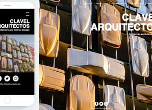 Clavel Arquitectos lanza su nueva web