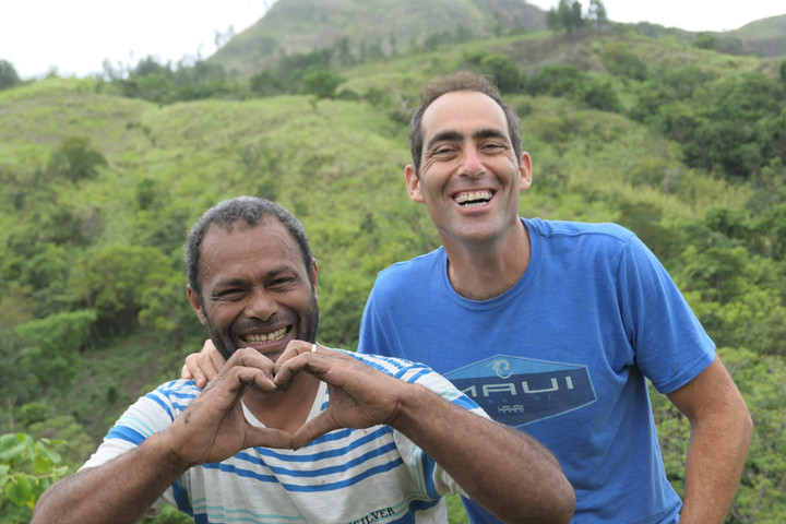 Sourcing kava with our friends in Fiji.