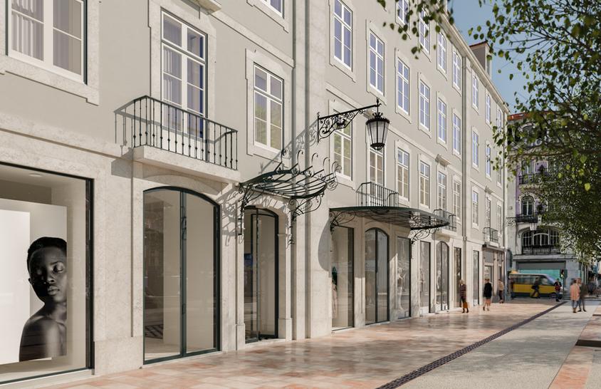 Rossio Pombalino - Lisbon, Portugal