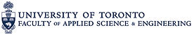 Logo of U of T Faculty of Applied Scienc
