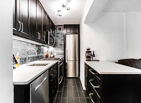 Beautiful Monochrome Kitchen