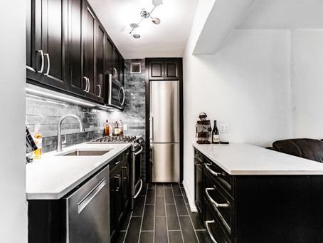 Beautiful Monochrome Kitchen