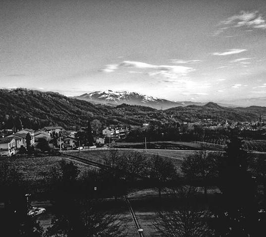 Out the Window, Italy. _#blackandwhitena