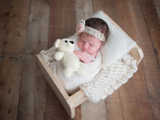 NJ newborn photo session