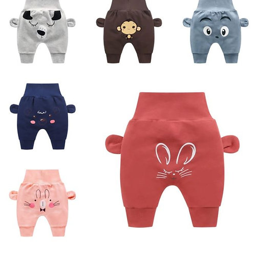 Cute Baby Trousers Bottoms Cotton Cartoon Infant