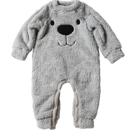 Newborn Clothes Pajamas Winter Baby Warm Romper