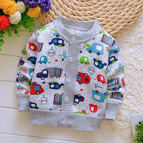 Baby Boys Sweater Cardigan Toddler Knit Coats Toddler Warm Outerwear