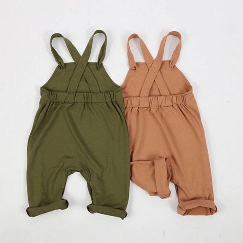 Autumn Winter Newborn Girls Boy Toddler Pants Baby Suspender Trousers Leggings