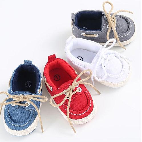 Baby Newborn Denim Soft Sole Toddler Infant Shoes Prewalker Sneaker Shoses