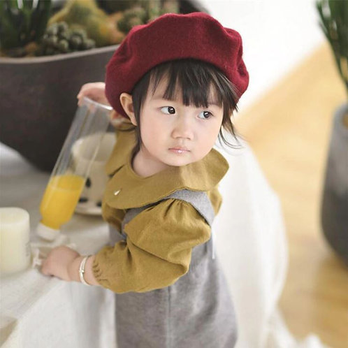 Toddler Blouse Baby Girl Long Sleeve Cotton Outwear Tops