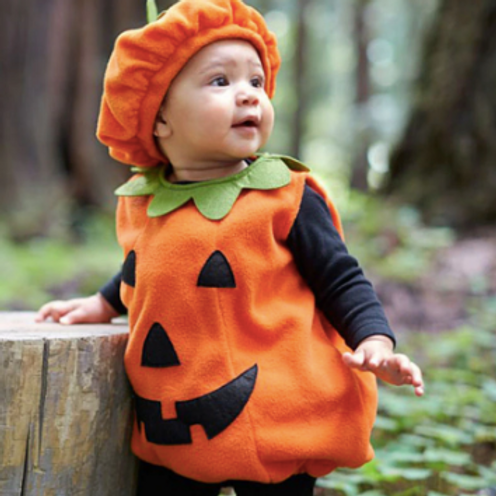 Halloween Costume for Baby Pumpkin Tops Outfit Party Fancy Dress