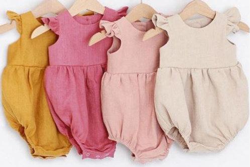 Spring Summer Baby Girls Bebe Roupas Newborn Outfit