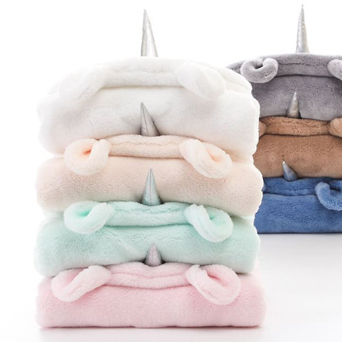 Newborn Blankets Winter Warm Fluff Wrap Swaddling Baby Sleeping Bag Infant