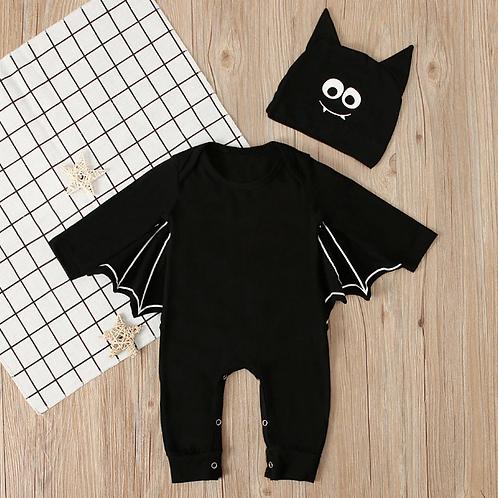 Baby clothing Toddler Baby Boys Girls Halloween Bat Cosplay Costume Long Sleeve