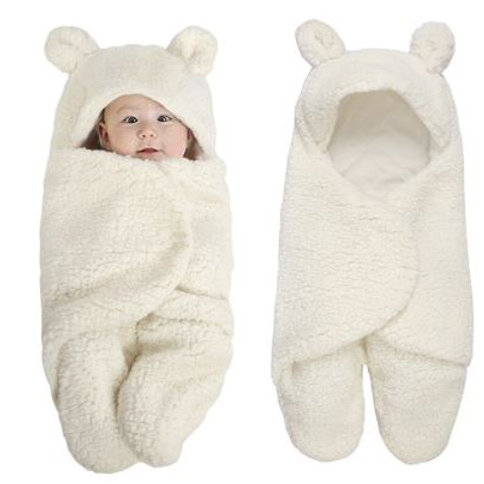 Baby Blanket Infant Baby Swaddle Wrap Soft Winter Bedding Receiving