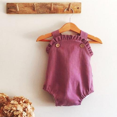 Baby Girl Clothes Lovely Cotton Ruffle Romper Elegant Sleeveless