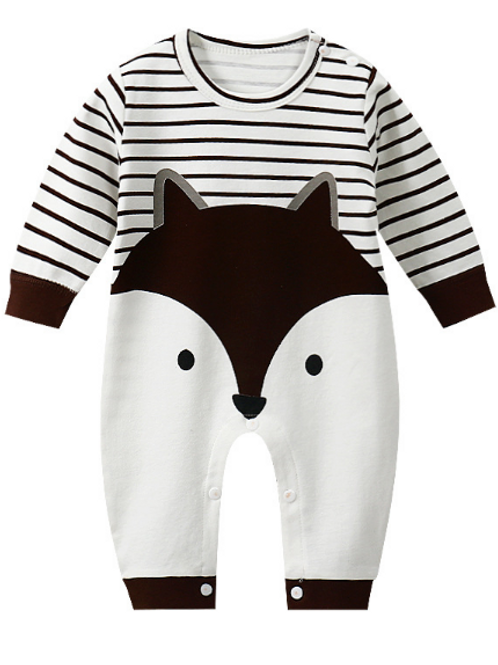 Baby Rompers  Jumpsuit Spring Autumn Winter Toddler Cartoon Long Sleeve Cotton