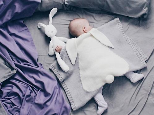 Newborn Blankets Swaddle Baby Knitted Warm Sleeping Swaddling Wrap