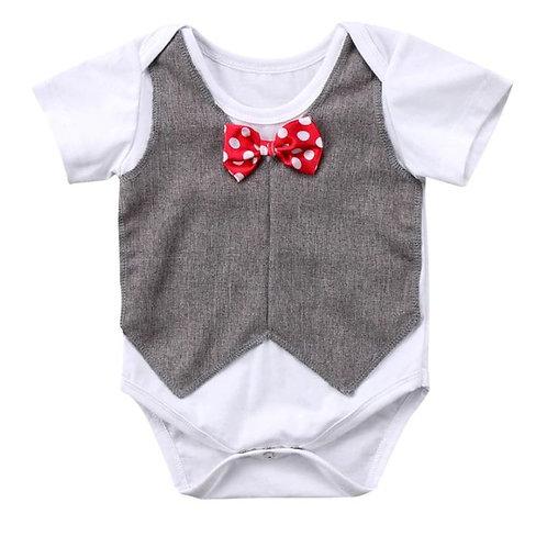 Baby boy Clothing Bodysuit Gentlemanborn Clothes For Boys