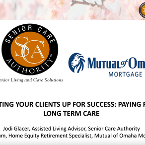 Setting your Clients Up for Success: Paying for Long Term Care | January 19, 2021 @12pm