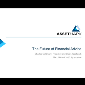 Charles Goldman | The Future of Financial Advice | November 19th, 2020