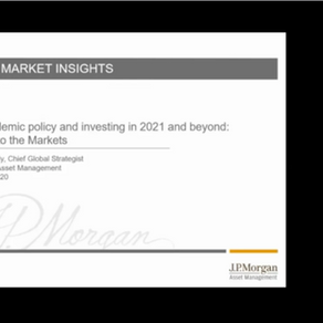 Dr. David Kelly | The pandemic, politics, and policy: A Guide to the Markets| November 19th, 2020