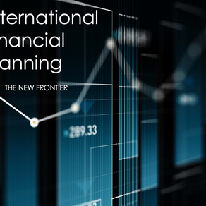 International Financial Planning: The New Frontier | June 25th, 2020 Webinar