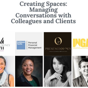 Creating Spaces: Managing Conversations with Colleagues and Clients | June 12, 2020 Webinar