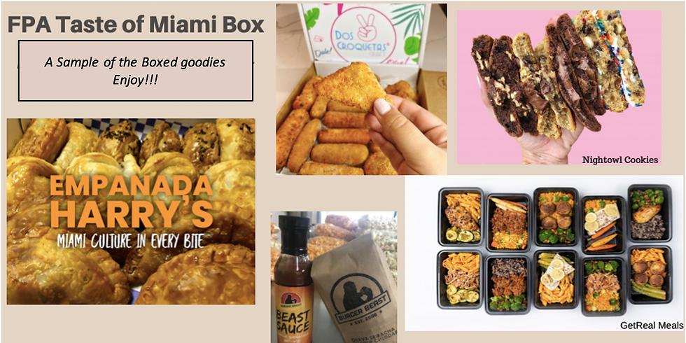 """FPA of Miami Symposium - """"Taste of Miami"""" Box"""