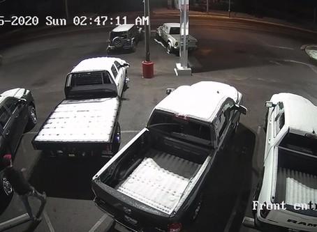 Car Lot Vandal - CAPTURED!!!