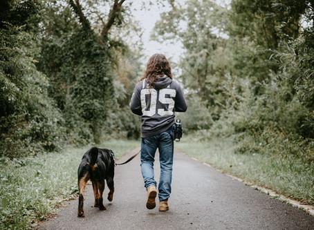 5 redenen waarom wandelen met je hond ook goed voor jou is