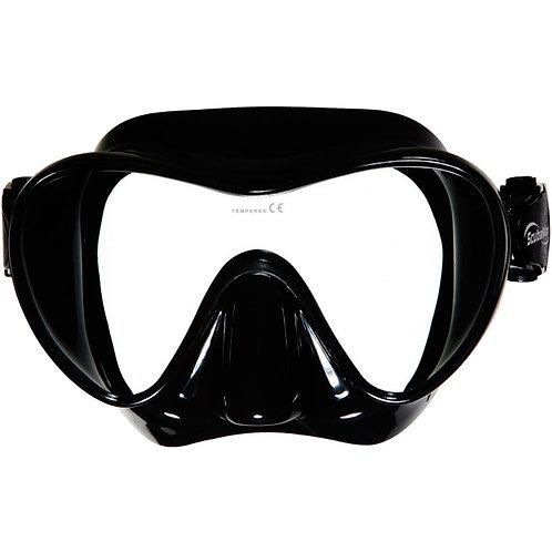single lens frameless mask Scuba Max