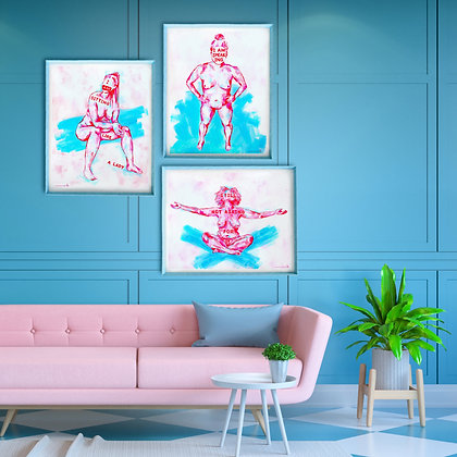 """We Have Something To Say"" Giclée Print Collection"
