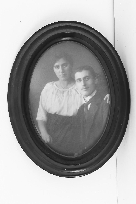 Leon Ruben med hustruen Betti