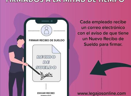 Legajos Online y los requisitos para Recibo de Sueldo Digital
