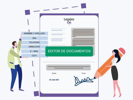 [02/06/2021] Editor de documentos