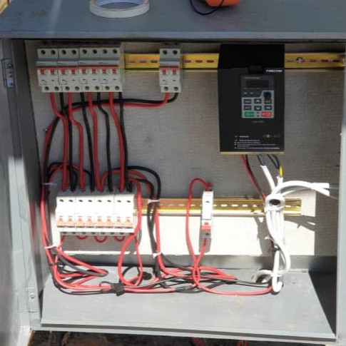 Wiring the VFD Drive for Off-grid power