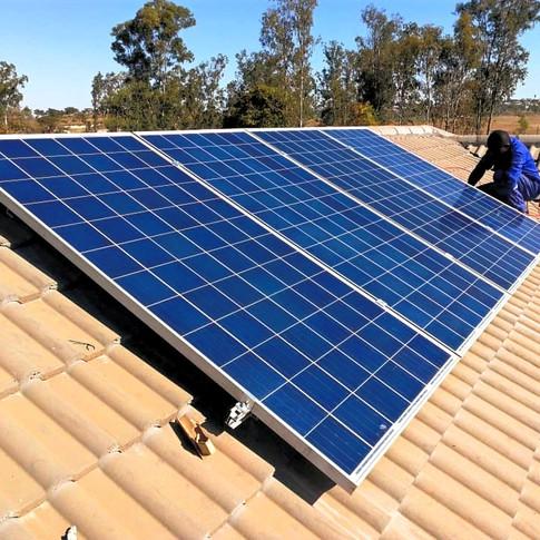 1.5KWp Solar Array