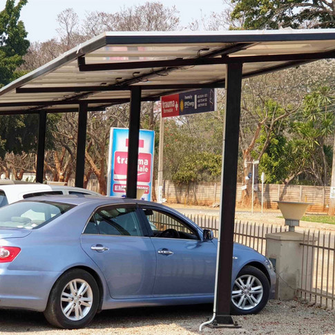 20KWp Carport Solar Array