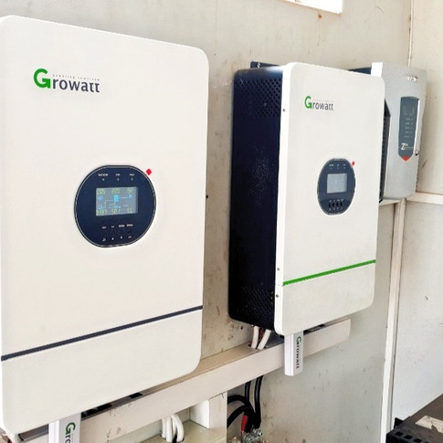 10KVa Growatts Hybrid PV High Voltage Inverters