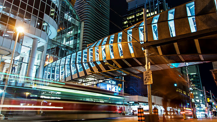Eaton Centre Pedestrian Bridge