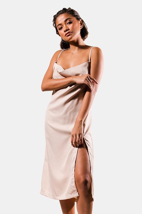 Palita Dress in Nude